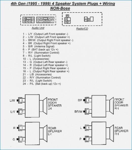 nissan maxima radio wiring diagram technical articles 4th