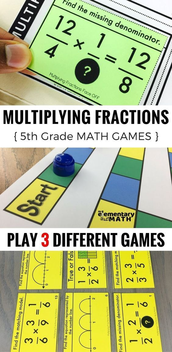 5th Grade Multiplying Fractions Games Are A Fun Alternative To Worksheets For Teaching And Reviewing M 4th Grade Multiplication Math Games 5th Grade Math Games