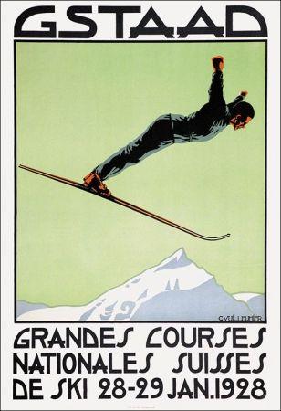 affiche art déco. C.Vuillemier - 1928 - Via JP Dubs