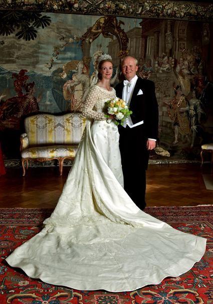 Princess Nathalie of Sayn-Wittgenstein-Berleburg and Alexander Johannsmann. Henrik Hviid from Denmark