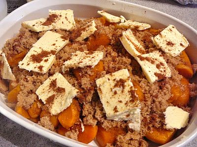 Candied Yams or Sweet Potatoes - This is what I've been looking for, for forever!!! Yippee! :D I recommended melting the butter and mixing in the brown sugar and cinnamon, first (after trying it).