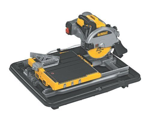 Dewalt D24000 1 5 Horsepower 10 Inch Wet Tile Saw Power Tile Saws Amazon Com Tile Saw Dewalt Tile Saws