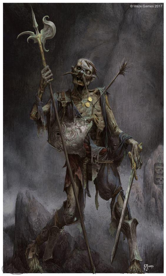 ArtStation - Undead warriors, Daniel Zrom