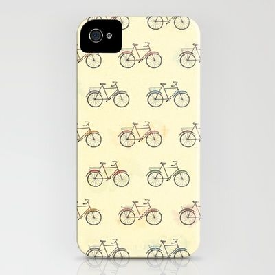 bicicletas iPhone Case by Mariana Beldi - $35.00