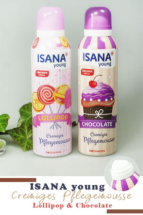Isana Young Cremiges Pflegemousse Lollipop Chocolate