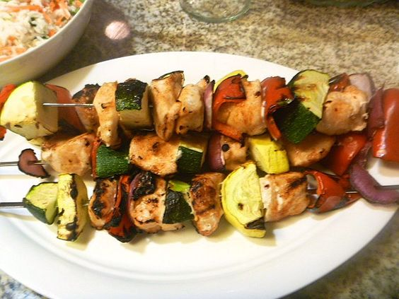 Slice of Southern: Jamaican Jerk Chicken Kabobs