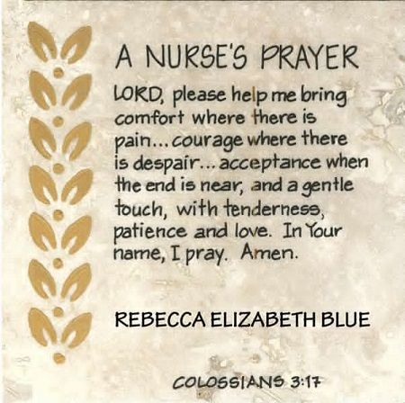 35 Nurse's Prayers That Will Inspire Your Soul | NurseBuff