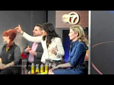 "RED 7 SALON - ABC ""Celebrity Inspired"" New Year's Eve Segment"