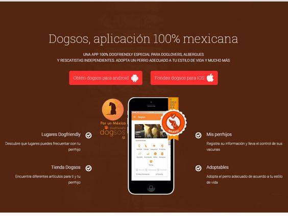 Es una app inspirada y diseñada para fomentar la adopción y fortalecer la cultura del tutor responsable