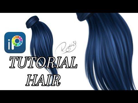 Tutorial Hair Ibis Paint X Youtube In 2020 Hair Tutorial Digital Art Tutorial How To Shade