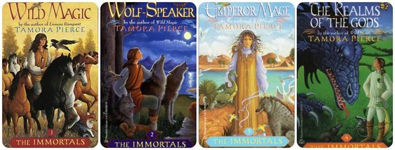 leant this 'The Immortals' -Tamora Pierce set out years ago and never got back #2 'Wolf-Speaker' ... would like replacement to match set, please