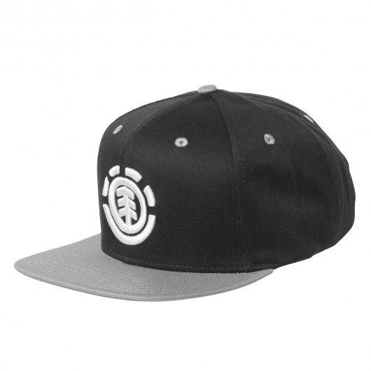 ELEMENT Knutsen Cap Boy casquette snapback black 25,00 € #skate #skateboard…