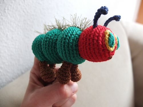 Free Crochet Pattern Very Hungry Caterpillar : Caterpillar, Hungry caterpillar and Very hungry ...