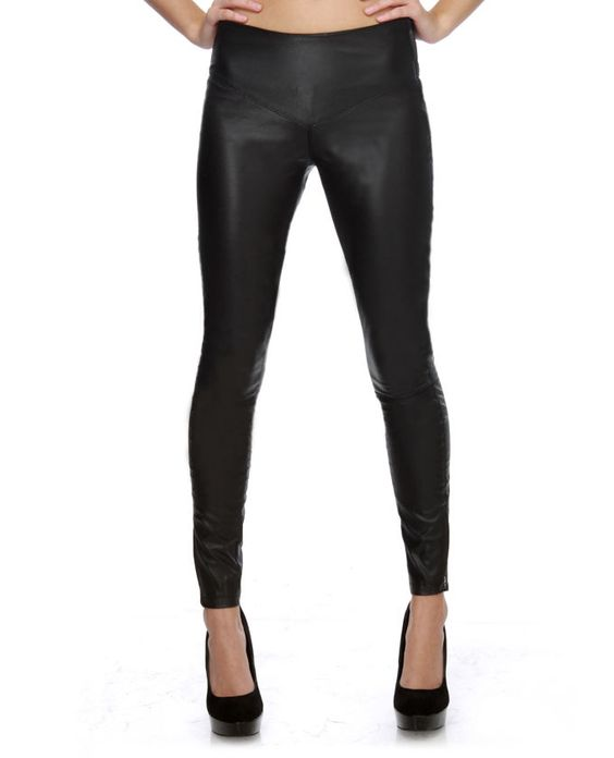 Vegan Leather Leggings! Not sure if I can pull these off, but love them!