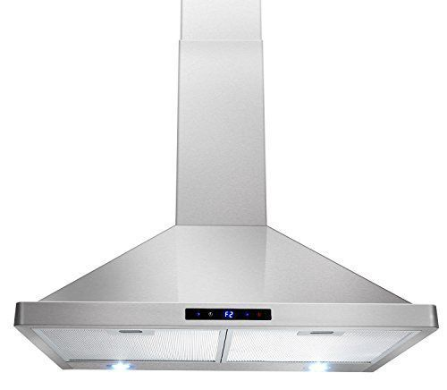 Akdy 30 Kitchen Wall Mount Stainless Steel Touch Panel Control Range Hood Stove Vents Appliances Touchpanel Dimension 29 5 In 2020 Stove Vent Range Hood Wall Mount Range Hood