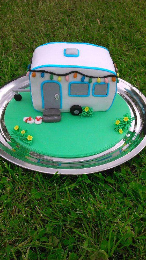 Wohnwagen Torte
