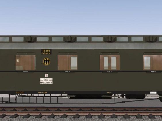D-Zugwagen preußischer Bauart, Set 1. Ab #EEP10 http://bit.ly/D-Zugwagen