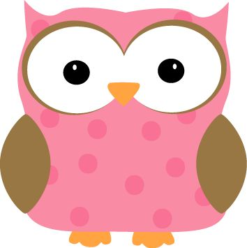 Pink Polka Dot Owl Clip Art 74 images for Free Clip Art Animals ...