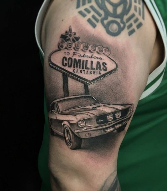 #TINTA  #POSTUREOCÁNTABRO = OBRA DE #ARTE  #Welcome to fabulous #Comillas (#Cantabria)  #Tatto #Tatuaje