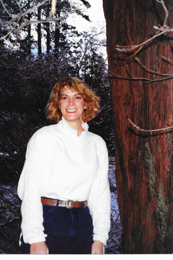 Judy at Yosemite