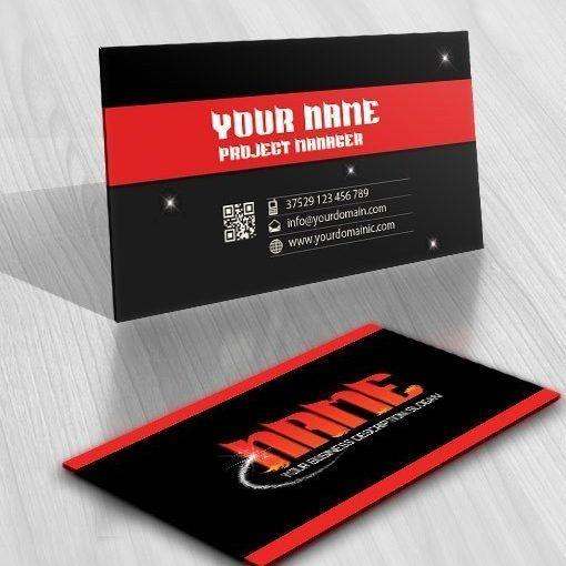 Buy Online Magic Fire Logo Free Business Card Free Business Cards Double Sided Business Cards Logo Design Template