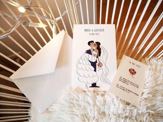 Sur le trône de la reine... #fairepart #mariage #illustration #papeterie #dessin #invitation #amour # love #wedding #annoncement #stationery #romantique #personnalisation