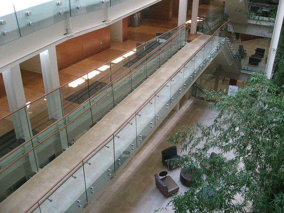 Standoff Glass Railing Demax Arch Glass Pool Fencing Glass Railing System Glass Railing
