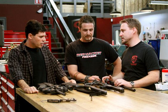 Max Brooks with Red Jacket Firearms on Sons of Guns