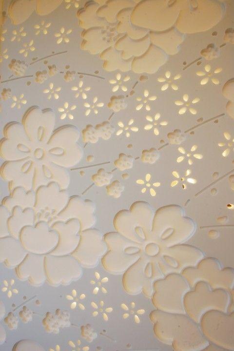 Backlit Corian Corian Wall Paneling Wall Design