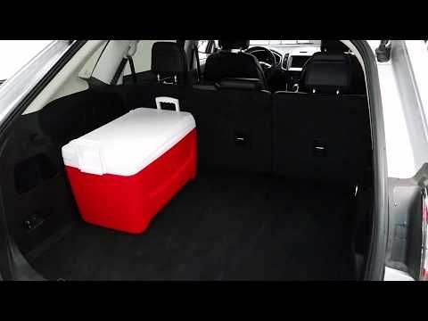 2 2015 2016 2017 2018 2019 Ford Edge Suv Checking Cargo Area Room Space With Cooler Youtube Ford Edge Ford Edge Suv 2019 Ford