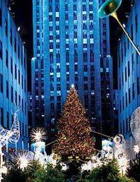 Just once...Rockefeller Center, Christmas Tree Lighting