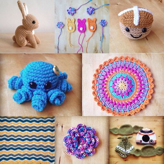 Some of the things I've made in March. Bring on April!  #wickedstitchescrochet #shopsmall #shophandmade #wahm #crochetersofinstagram #crochetersofig #crochet #crochetaddict #crocaine #clevercrafters #craft #crochetgirlgang #amigurumi #mandala #starwarscrochet by _wicked_stitches_