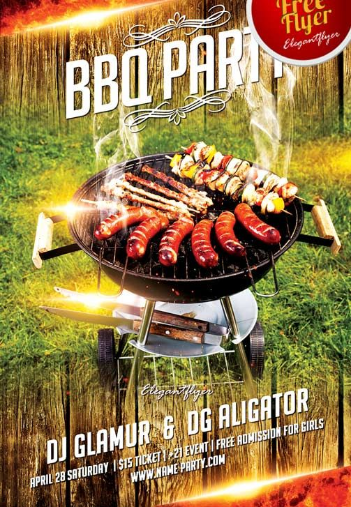 BBQ Time Invitation bbq Pinterest Barbecues - family reunion flyer