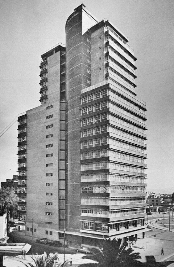 Secretaria de Recursos Hidraulicos Building by Mario Pani and Enrique del Moral 1950.