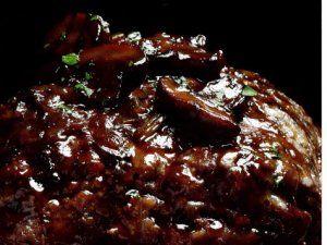 meatloaf with mushroom gravy -Mushroom Meatloaf with Mushroom ...