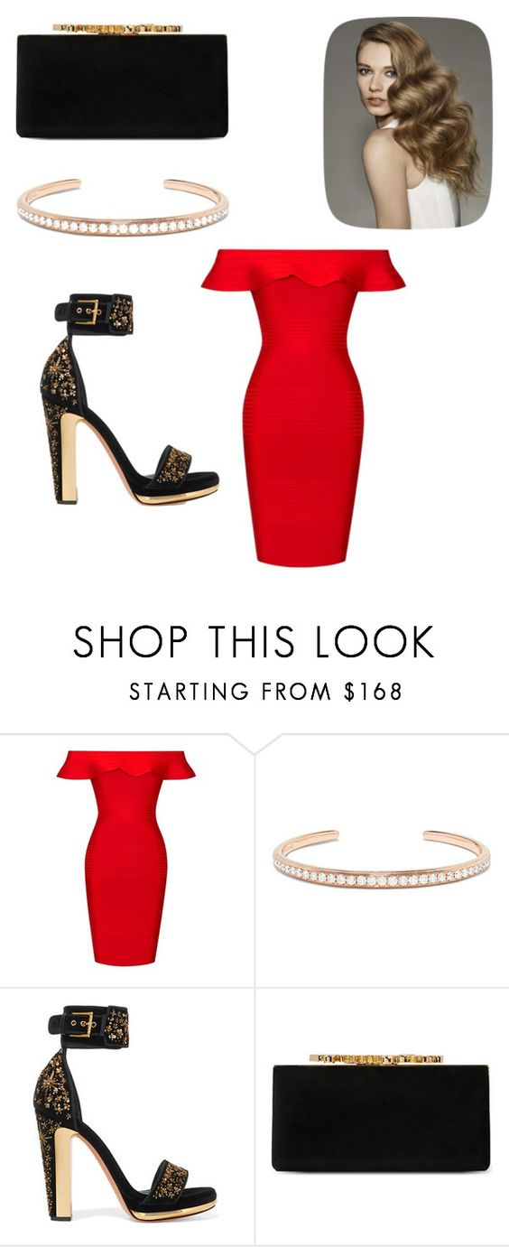 """Glamour is beauty"" by hottgirlyella ❤ liked on Polyvore featuring Posh Girl, Anita Ko, Alexander McQueen and Jimmy Choo"