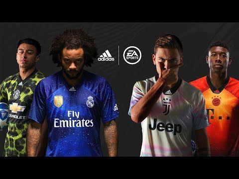 Effortlesslyfly Com Online Footwear Platform For The Culture Adidas X Ea Sports Reveal Limited Edition Jerseys Fifa Soccer Kits Adidas Football