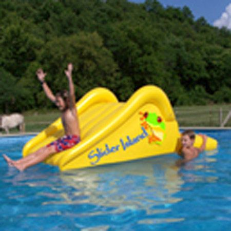 Overton 39 S Aviva Slider Island Watersports Lake Pool Leisure Pools Accessories