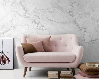 White Marble DIY 3D Peel and Stick Self Adhesive by decortilesco