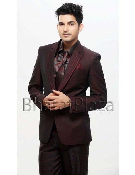 Buy Famous Attraction Tuxedo Suit Online http://www.bharatplaza.in