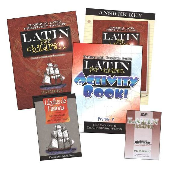 Latin for Children Primer C Mastery Bundle | Main photo (Cover)