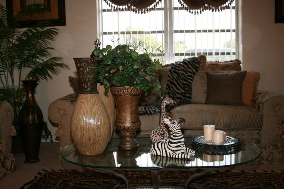 Safari Living Rooms, Safari And Living Room Designs On