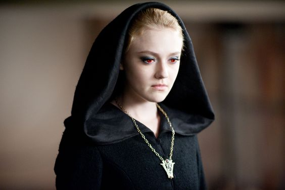 Pain...  Jane of The Volturi shares her 'gift' in The Twilight Saga: New Moon