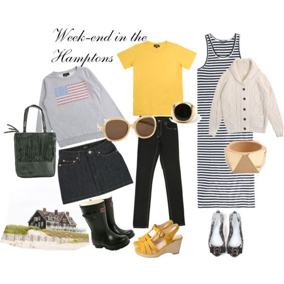 Week-end in the Hamptons, created by mediumfashiongallery on Polyvore
