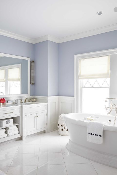 The Best Colors To Give Your Bathroom A New Look Best Bathroom Paint Colors Bathroom Wall Colors Small Bathroom Paint