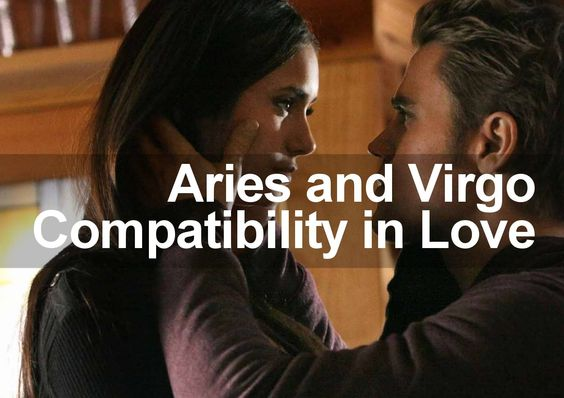 Virgo man dating aries woman