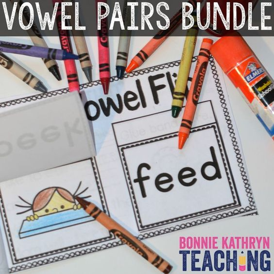 Do you have students who struggle with long vowel words? Learning how to blend sounds together can be tricky. Using pictures with words helps ELL learners. These repetitive activities help students gain confidence and recognize patterns when reading. Students love these interactive Vowel Pairs books!
