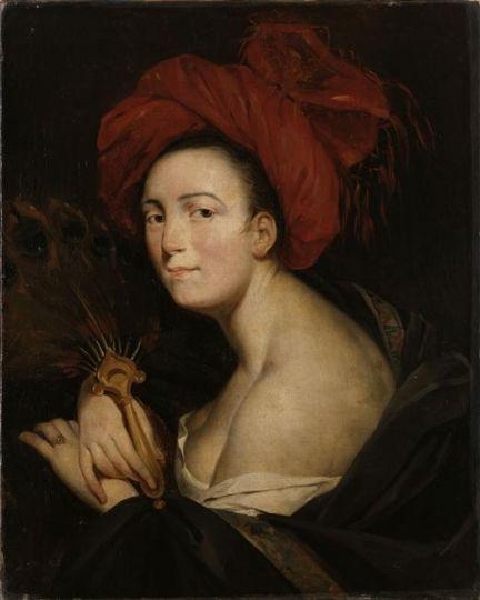 Eugene Deveria - La femme au turban dite la sultanne 1805: