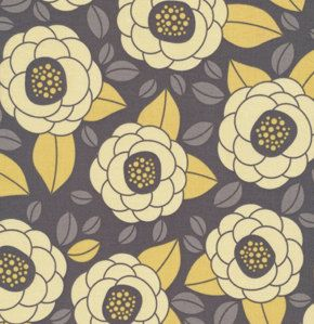 Aviary 2 Bloom in Granite JD45 1/2 yard  Joel by southernfabric, $4.49