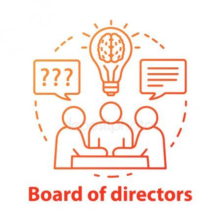 Board Of Directors Concept Icon Business Meeting Brainstorming Idea Thin Line Affiliate Icon Business C Line Illustration Creative Icon Illustration
